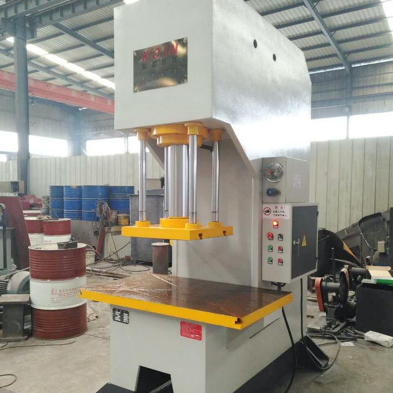 100吨非标单柱液压机